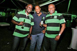 Heineken East African Boss with friends