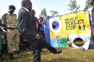 Most rural ugandans lack do not have toilets