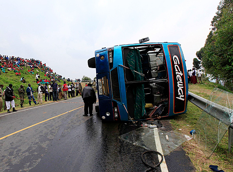 road accident during festive season