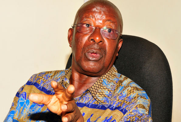 Amanya Mushega Amanya Mushega to Besigye stop the politics of undermining others