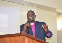 File photo: Chairman Peace Plan Rwanda Bishop Alixis Birindabagabo