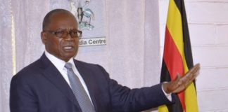 Minister. Muruli Mukasa