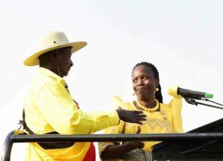 File photo: Hon. Nabakoola with President Museveni