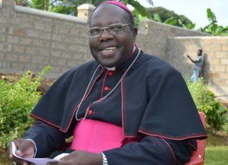 File photo: Bishop of Masaka Diocease John Baptist Kaggwa