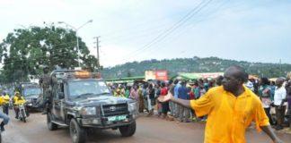 File photo:Abdullah Kitatta leading President Museveni's Convoy in Entebbe