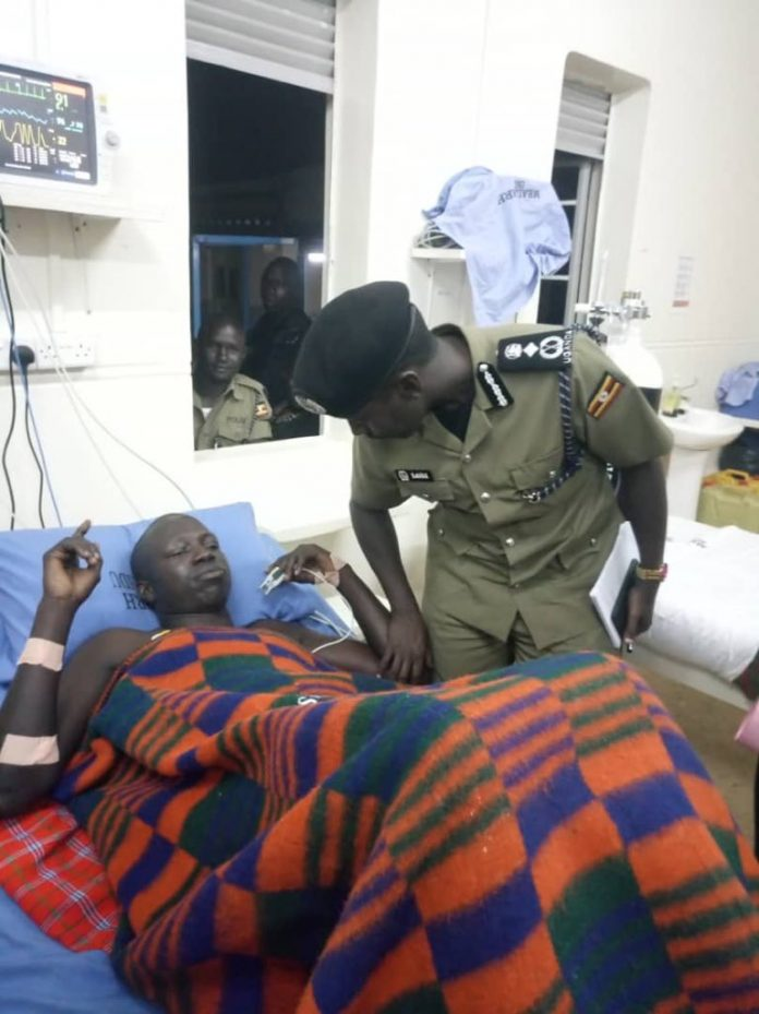 Maj. Gen. Sabiiti Muzeyi visits