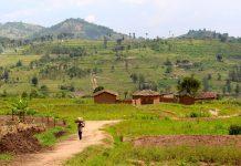 northeastern corner of Rwanda