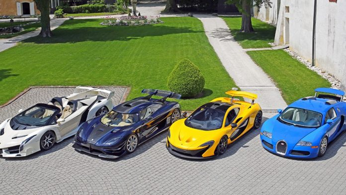 LaFerrari, One:1 among supercars of Equatorial Guinea leader's son
