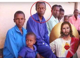 Inset: Solomon Ssemakula alias Joshua Jesus/ Jesus Christ