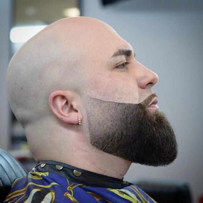 shaved head facial hair styles clean shave could expose you to hepatitis or even hiv 4667 | shaven